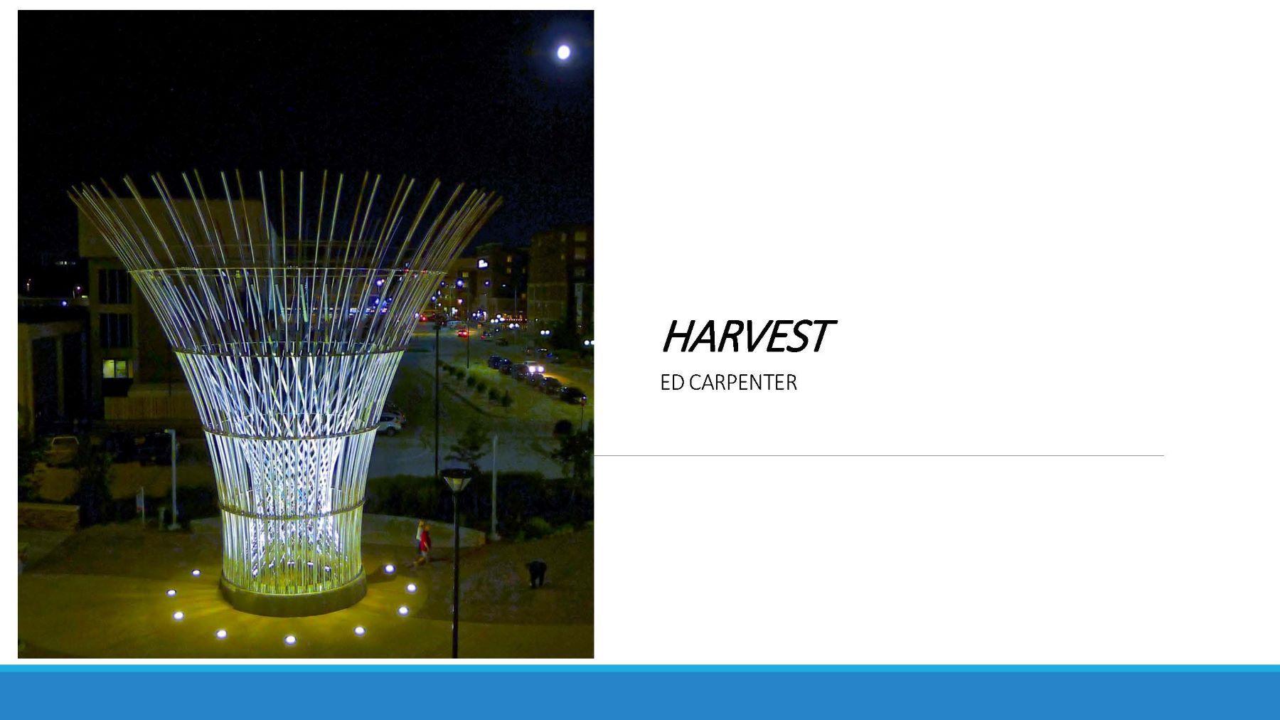 Harvest / Ed Carpenter